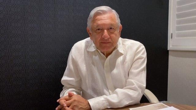 El presidente Andrés Manuel López Obrador no se hará la prueba del coronavirus (Foto: Captura de pantalla)