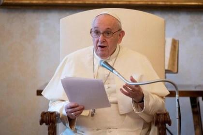 El papa Francisco llamó a superar el individualismo en tiempos de pandemia (Vatican Media/Handout via REUTERS)