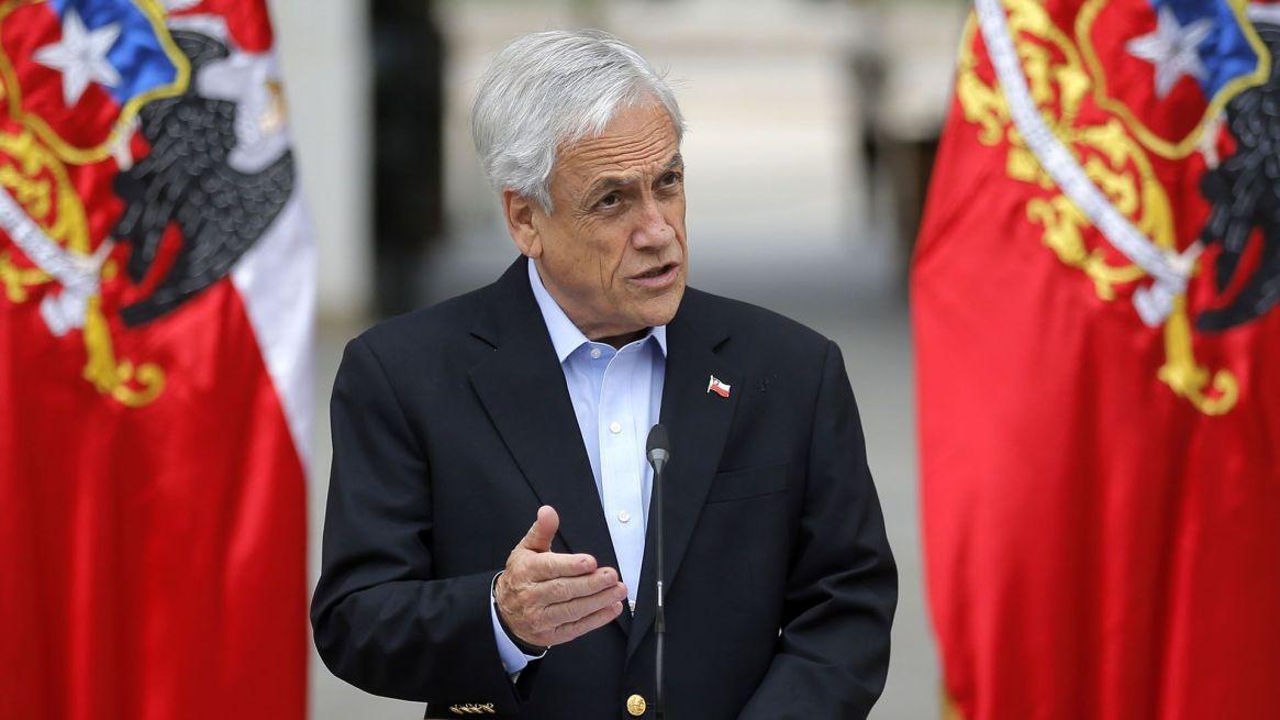 Sebastián Piñera, presidente de Chile (Pedro Lopez / AFP)