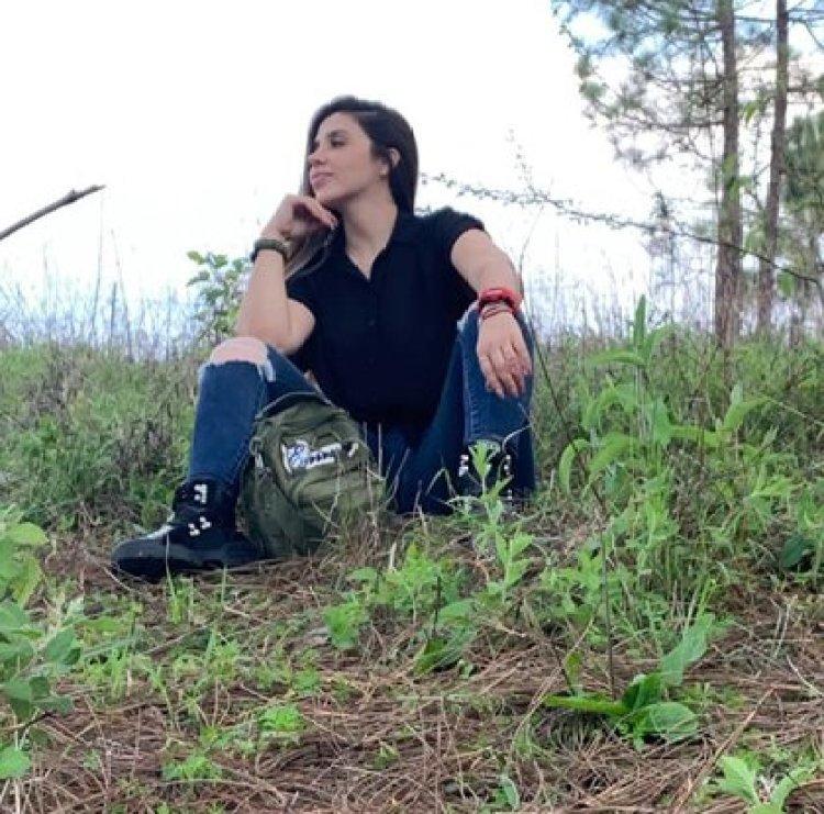 Эмма Коронель не прекращала посещать Канелас, свою землю (Фото: Facebook / Emma Coronel)
