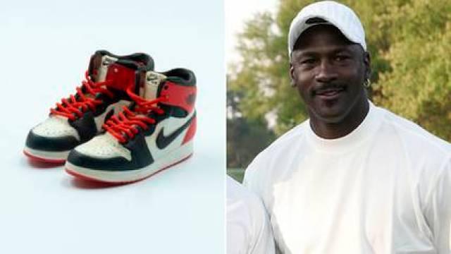 Michael y las Air Jordan 1 que Nike diseñó tras el acuerdo con la empresa