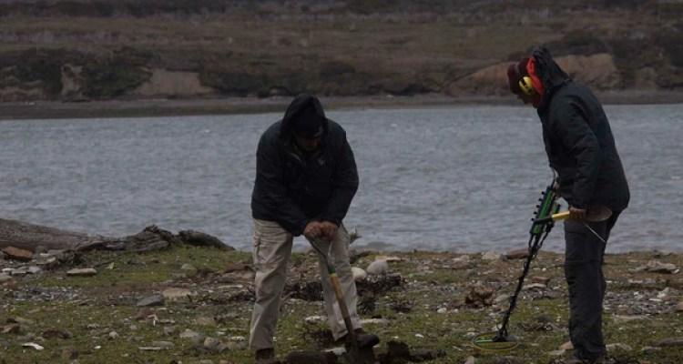 Otro gran componente de esta exploración estuvo conformado por las excavaciones arqueológicas terrestres, coordinadas por el arqueólogo Martín Vázquez.