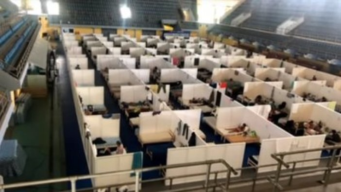 Personas aisladas en el Estadio Cincuentenario denuncian estado de hacinamiento en el lugar