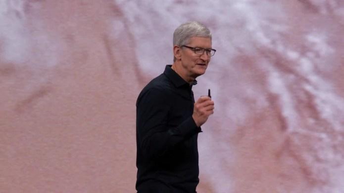 Tim Cook presentó novedades de Apple (Foto: Apple)
