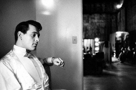 Rock Hudson en 1957 (Bob Willoughby)