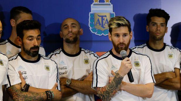 """Otro de los temas abordados por Fantino fue el del """"modo camarilla"""" de Messi y sus amigos en la Selección (AP)"""