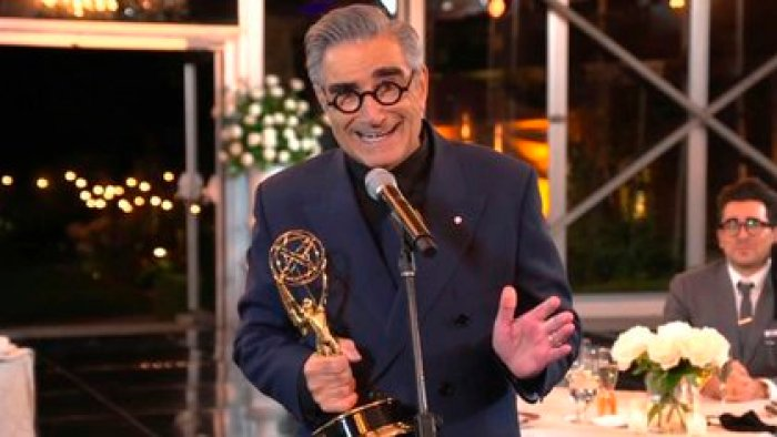 Eugene Levy (Foto: The Television Academy y ABC Entertainment vía AP)