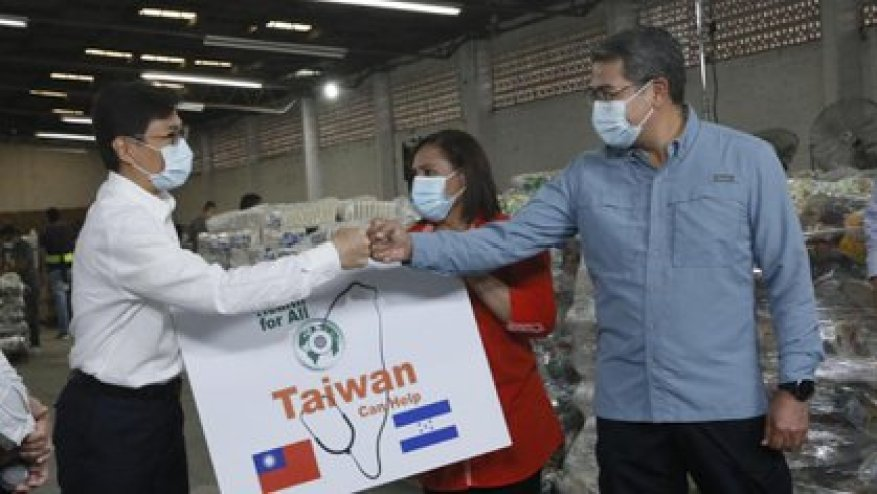 Taiwan's help to cope with the climate emergency.