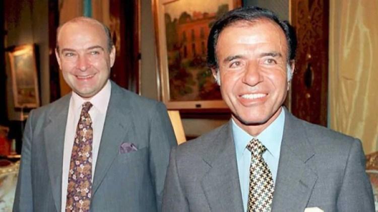 Domingo Cavallo y Carlos Menem, condenados por los sobresueldos (AFP)