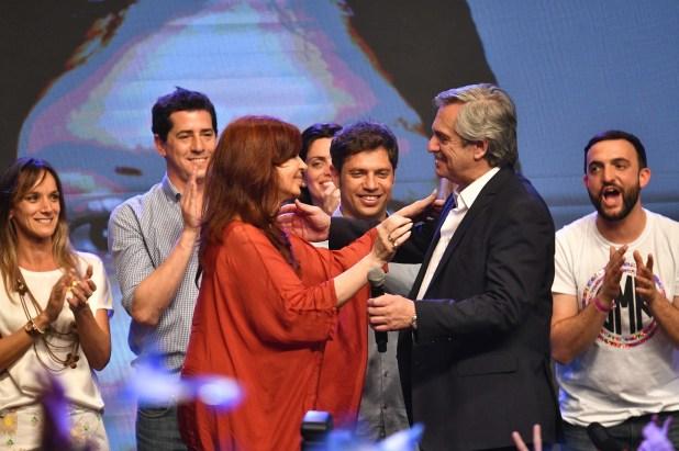 Alberto Fernández y Cristina Fernández de Kirchner asumen el próximo 10 de diciembre