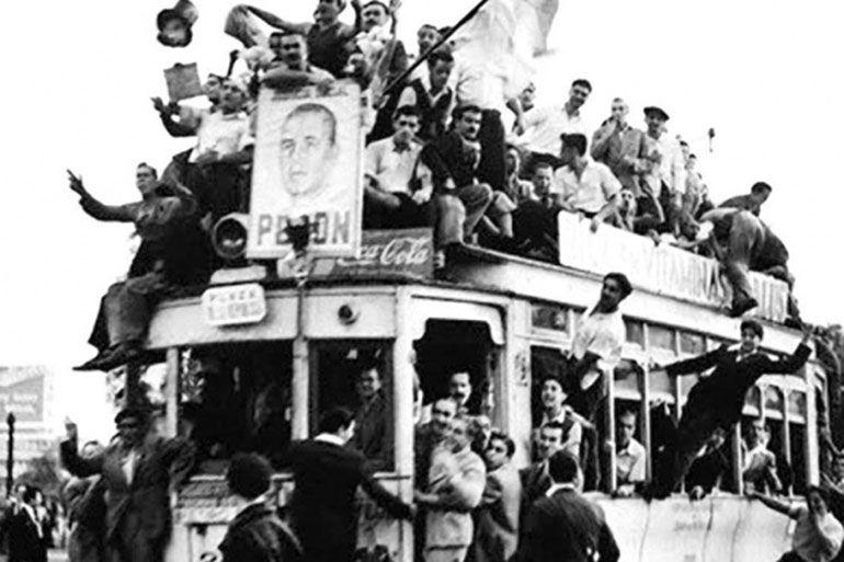 La movilización del 17 de octubre de 1945
