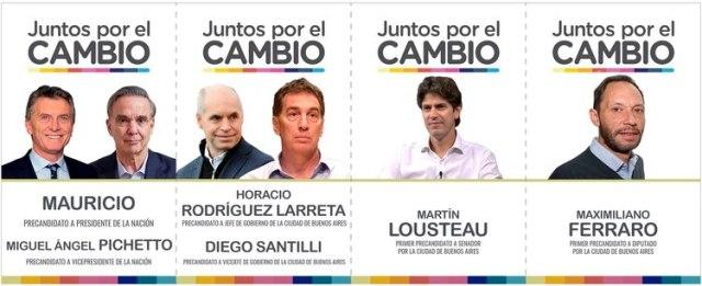 Rodríguez Larreta, Santilli y Lousteau son las figuras porteñas de Juntos por el Cambio