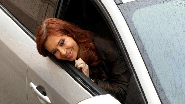 La ex presidente Cristina Kirchner (foto Télam)