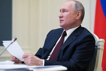 Vladimir Putin. Sputnik/Alexei Druzhinin/Kremlin via REUTERS