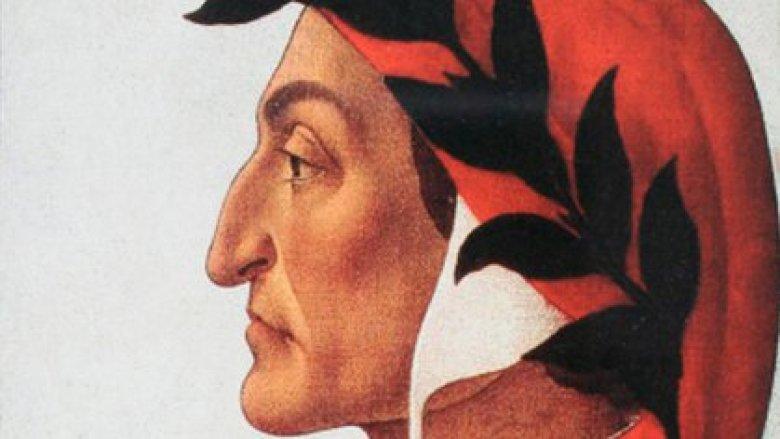 """""""Retrato de Dante"""", 1495. Sandro Botticelli."""