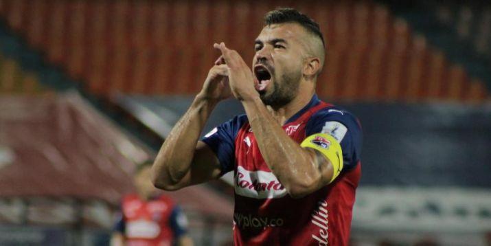 Andrés Felipe Cadavid, futbolista de Independiente Medellín. Foto cortesía de Dimayor.