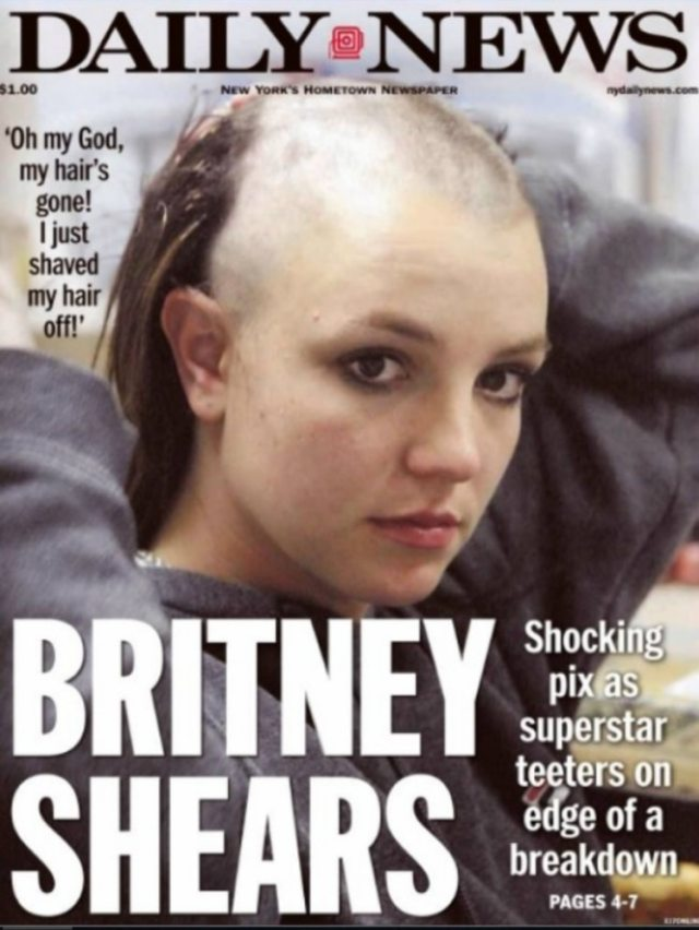 La prensa en EEUU siguió con atención las horas más duras de Britney