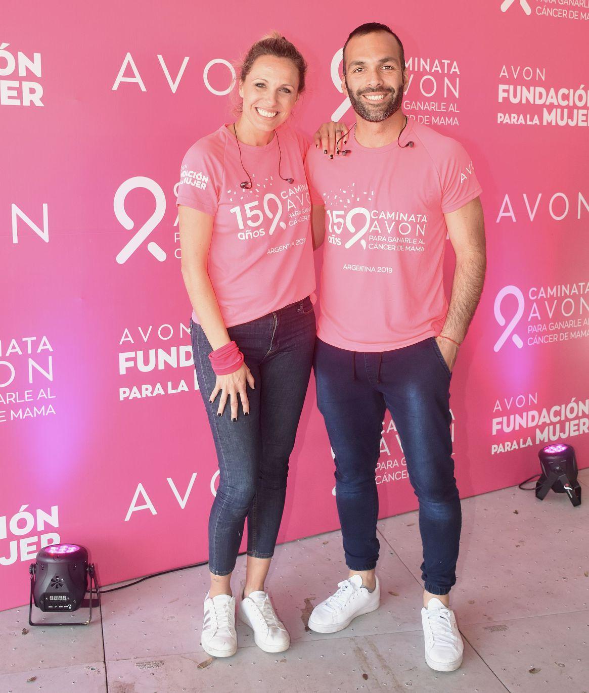 Denise Dumas y Cristian Vera