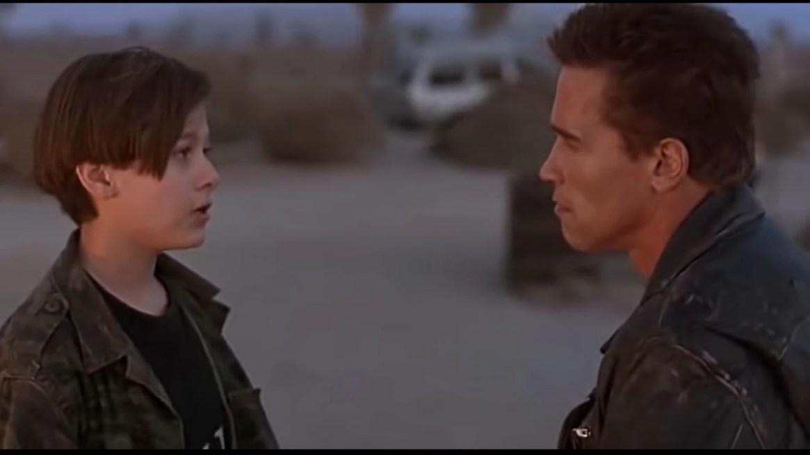 """En """"Terminator 2"""" John Connor se encariña con el ciborg, que fue creado para protegerlo (Foto: Especial)"""