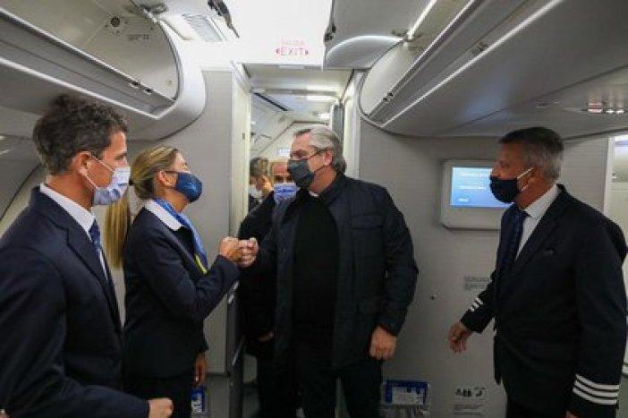Alberto Fernández begann mit Martín Guzmán eine Europatour, um wichtige Unterstützung vom IWF und vom Pariser Club zu erhalten.