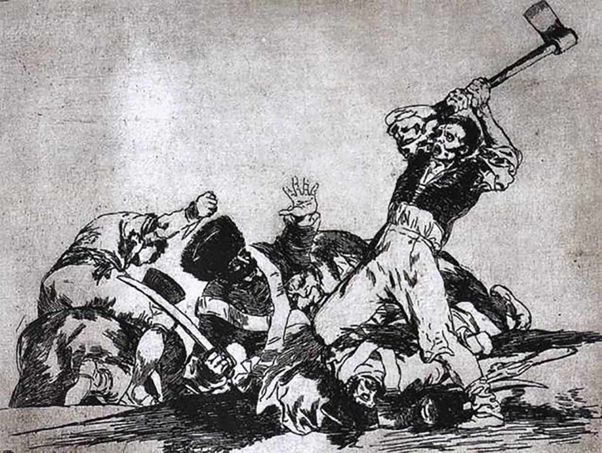Cuadros de Goya sobre guerra