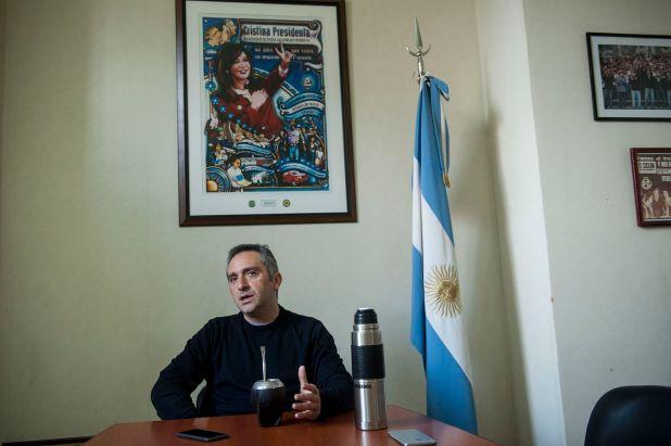 """Entrevista a Andrés """"cuervo"""" Larroque"""
