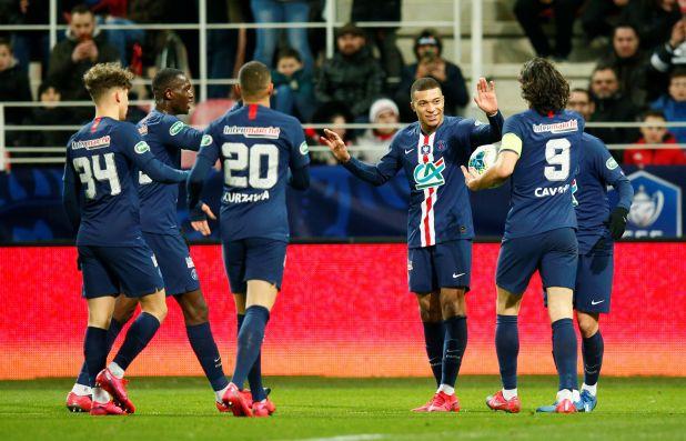 PSG lidera el ranking de clubes (REUTERS/Emmanuel Foudrot)