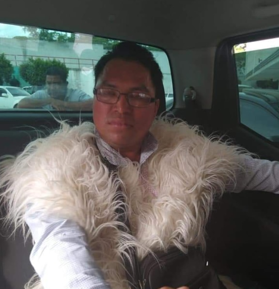 El líder indígena, Juan Shilón, fue detenido este miércoles por delitos de motín y robo con violencia (Foto: Especial)