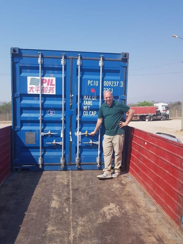 El primer envío llegará a destino, al puerto de Nhava Sheva, en los próximos 45 días