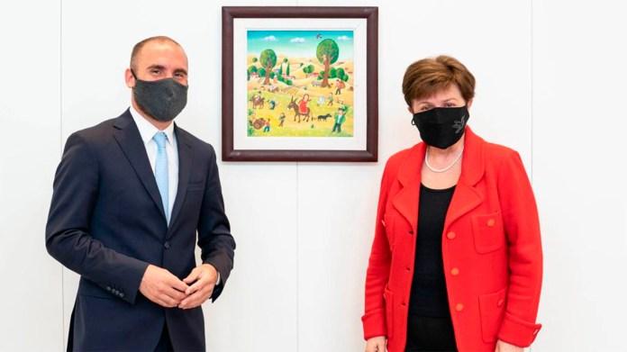 Martín Guzman y Kristalina Georgieva