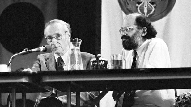 William Burroughs y Allen Ginsberg (Crazy Wisdom/Kobal/Shutterstock)
