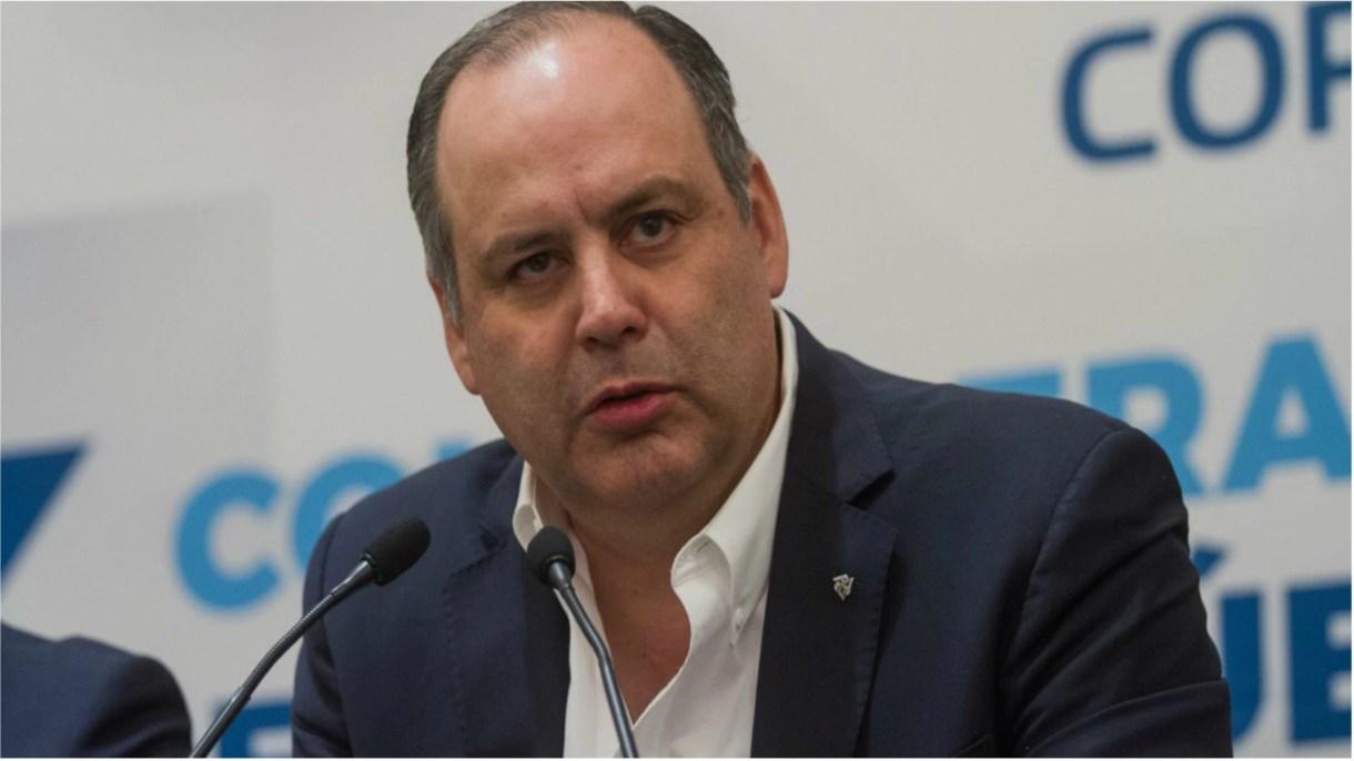 Gustavo de Hoyos Walter, presidente de la Coparmex (Foto: Cuartoscuro)