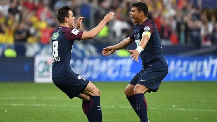 PSG juega por la Champions Cup (Foto: AFP)