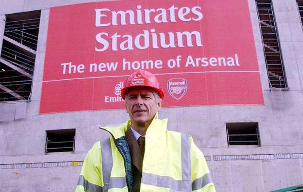 La construcción del Emirates Stadium, un hito histórico del Arsenal de Wenger