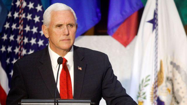 """El vicepresidente Mike Pence estará a cargo de la presentación de """"Latinos For Trump"""". (Reuters)"""