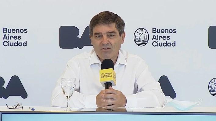 Fernan Quiros - información sobre la situación sanitaria de la Ciudad