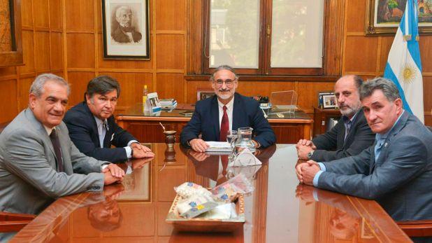 El ministro de Agricultura recibió a los representantes de las entidades que agrupan a los productores agropecuarios
