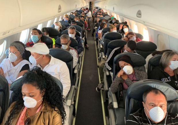 No está previsto que salga un próximo avión de La Habana a Buenos Aires con los argentinos varados en Cuba. El último despegó ayer y aterrizó en Ezeiza a la medianoche