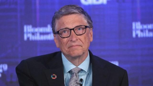 """Difícil vencer esto"", escribió Bill Gates con optimismo (Getty)"