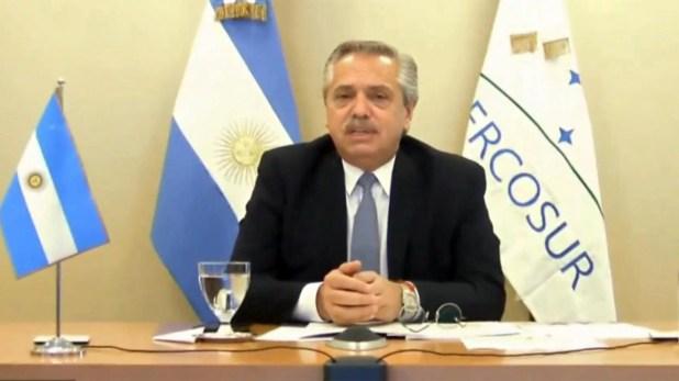 Alberto Fernández recibe la presidencia pro témpore del MERCOSUR