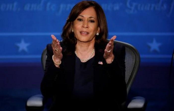 La candidata a vicepresidente del partido demócrata, Kamala Harris. Foto: REUTERS/Brian Snyder