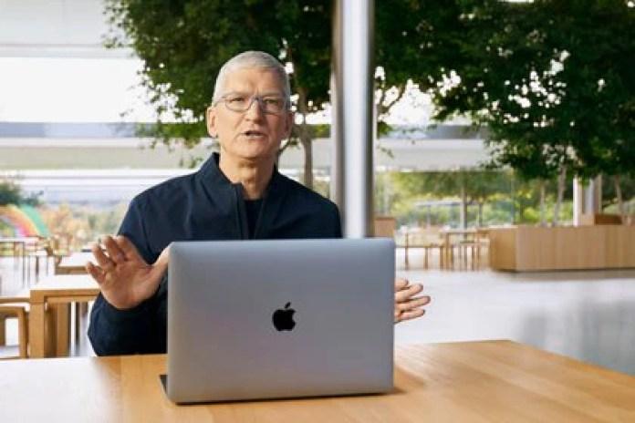 Tim Cook, CEO de Apple (AFP PHOTO /Brooks Kraft / Apple Inc)