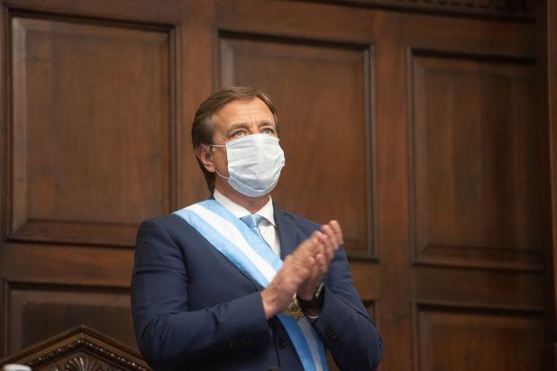 Gobernador de Mendoza Rodolfo Suárez, apertura sesiones ordinarias 1 de mayo 2020