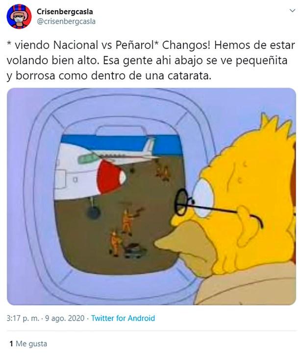 Memes del clásico uruguayo - Nacional vs Peñarol