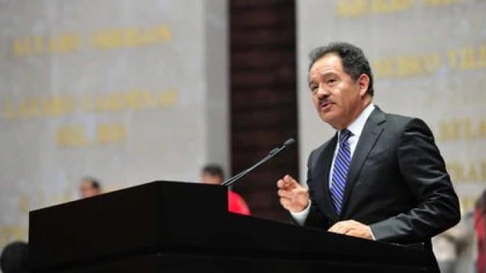 Mier, coordinador de Morena en San Lázaro, adelantó que su partido impulsará sin cambios la iniciativa de AMLO (Foto: Cortesía Cámara de Diputados)