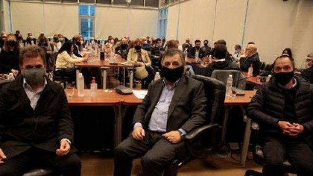 Cristian Ritondo (PRO) y Mario Negri (UCR), dos diputados clave en el Interbloque de Juntos por el Cambio