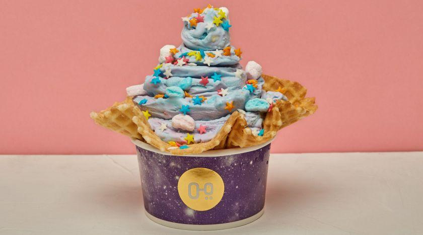 Candy Smash, el helado divertido con granas, marshmallows de color y cotton candy (Goodestern)