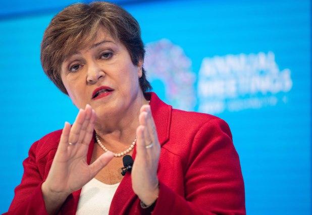 Kristalina Georgieva, directora gerente del FMI (AFP)