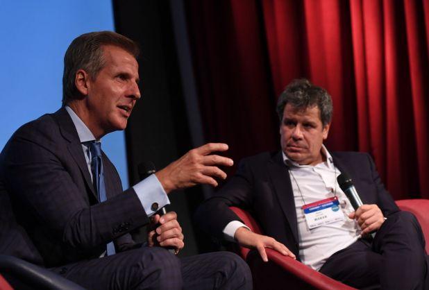 Martín Redrado participó en una charla con Facundo Manes (Maximiliano Luna)