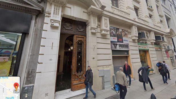 Teylem registra una dirección en el piso 4 de un edificio ubicado en San Martín 66